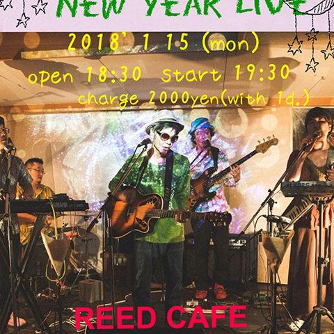 【2018.01.15】せいかつサーカス New Year Live @アメリカ村 REED CAFE